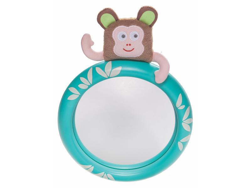 TAF TOYS - Zpětné zrcátko do auta s opičkou Marco