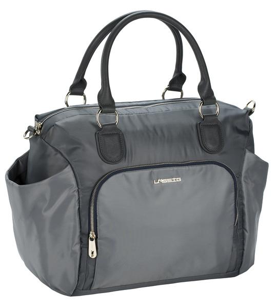 LÄSSIG - Taška na rukojeť Gold Label Avenue bag - grey
