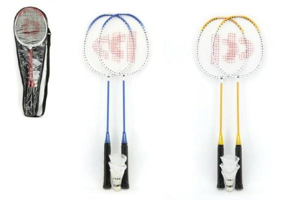 TEDDIES - Badminton sada + 3 košíčky Donnay kov 66 cm
