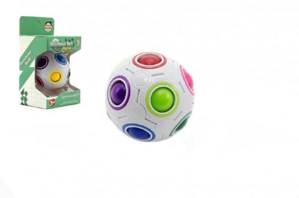 TEDDIES - Hlavolam míček plast 7 cm v krabičce