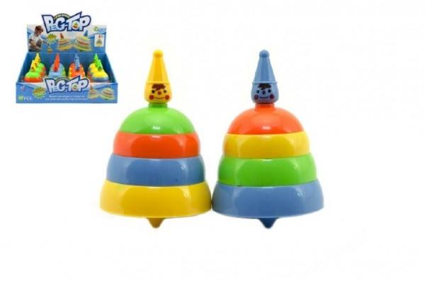 TEDDIES - Káča plast 10 cm assort mix barev