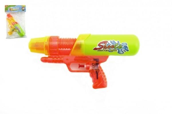 TEDDIES - Vodní pistole plast 24 cm assort 2 barvy v sáčku