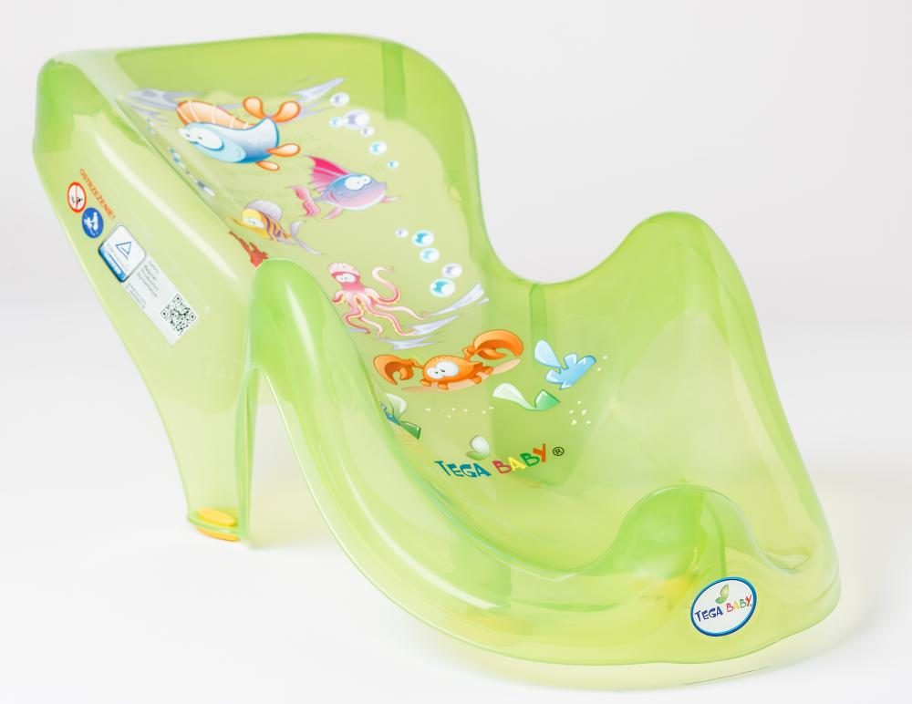 TEGA BABY - Podložka do vany Aqua zelená