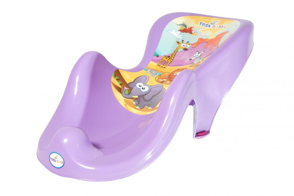 TEGA BABY - Podložka do vany Safari - fialová