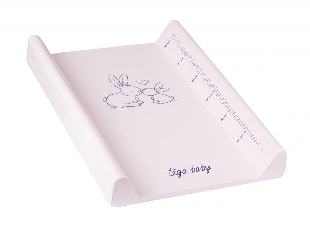 TEGA BABY - Přebalovací podložka zajíček růžová