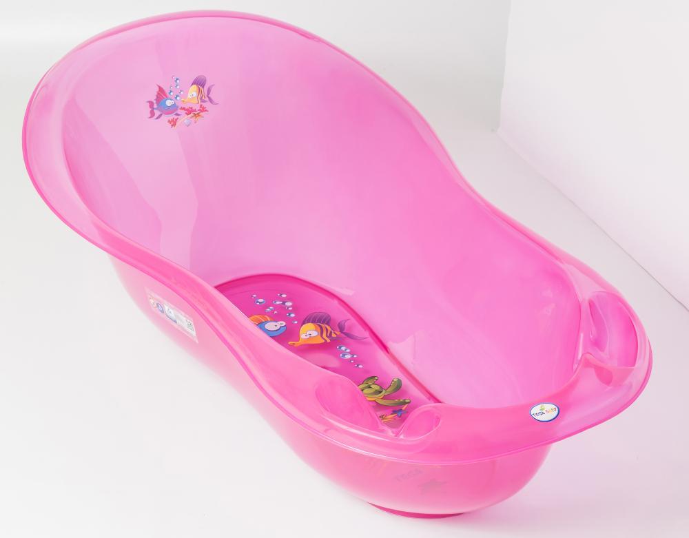 TEGA BABY - Vanička malá Aqua 86cm růžová