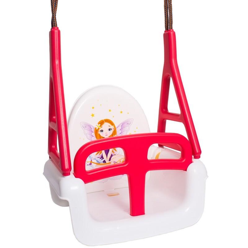 TEGA - Dětská houpačka 3v1 princess Swing white