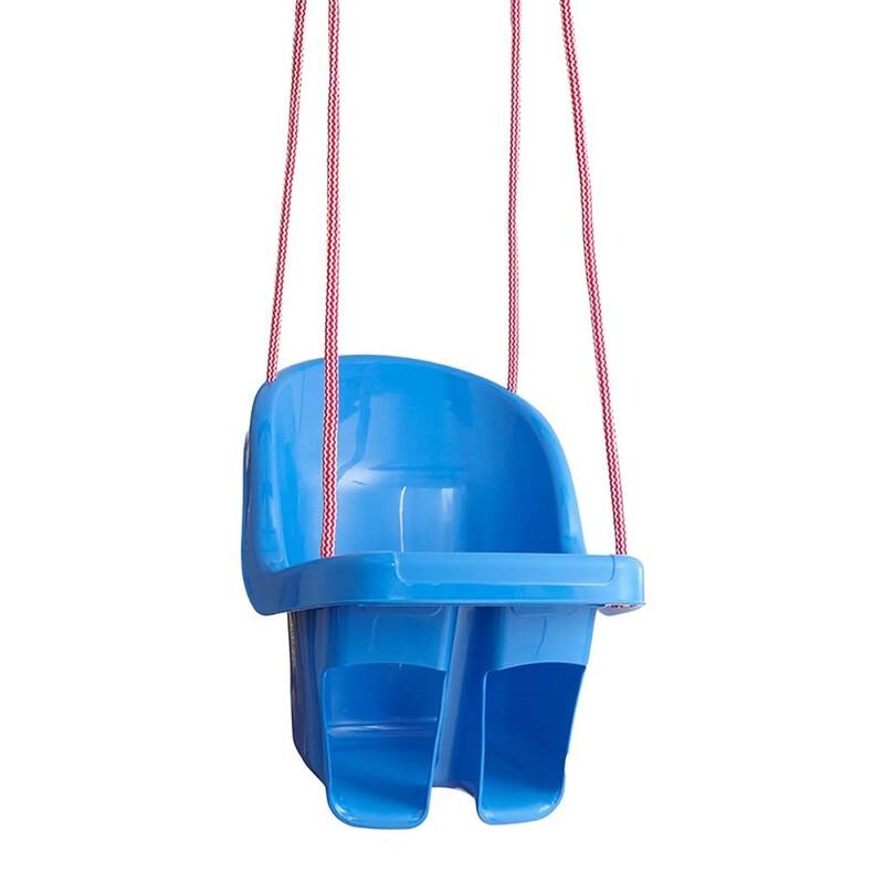 TEGA - Dětská závěsná houpačka modrá