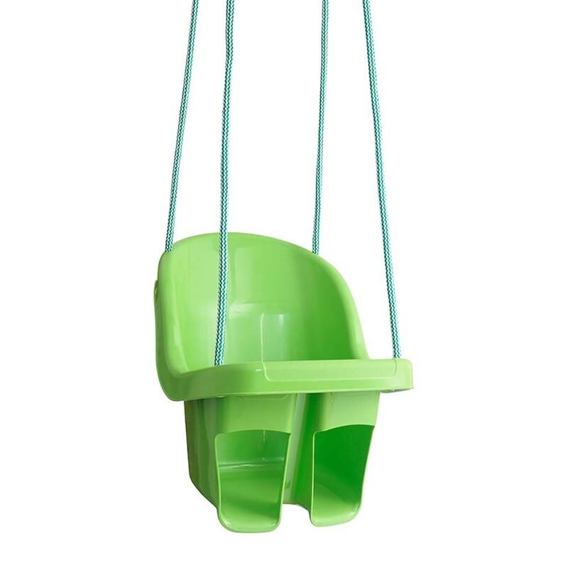 TEGA - Dětská závěsná houpačka zelená