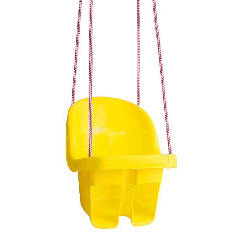 TEGA - Dětská závěsná houpačka žlutá