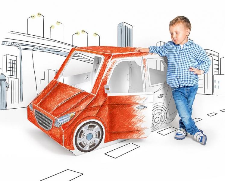 TEKTORADO - Dětské kartonové auto Tektorado