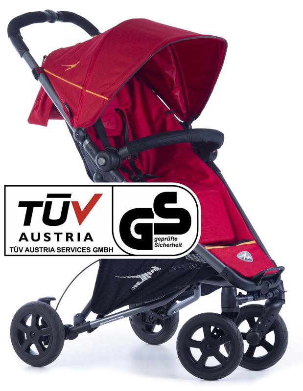 TFK - sportovní kočárek Dot 2 Tango Red T-DOT-19-345