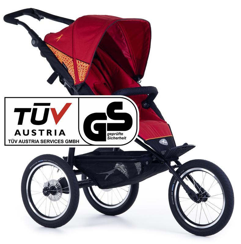 TFK - sportovní kočárek Joggster Sport 2 Tango Red T-JS-19-345