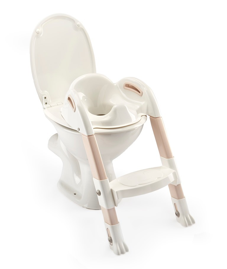 THERMOBABY - Židlička na WC Kiddyloo, Off White