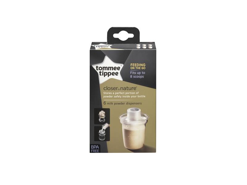 TOMMEE TIPPEE - Dávkovač na sušené mléko C2N, 6ks