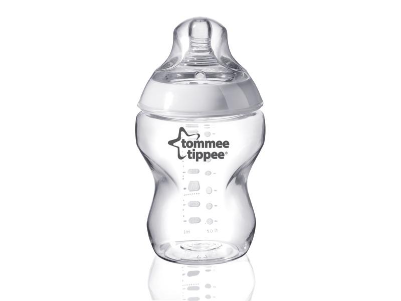 TOMMEE TIPPEE - Dojčenská fľaša C2N, 1ks 260ml, 0+m