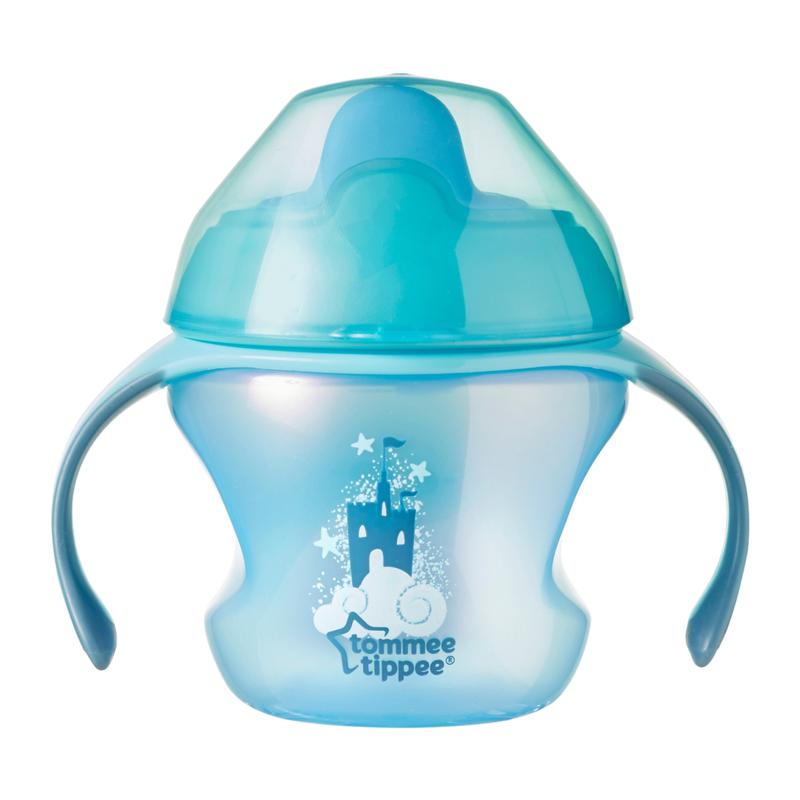TOMMEE TIPPEE - Nekapající hrneček Explora First Cup 150 ml, 4 m+