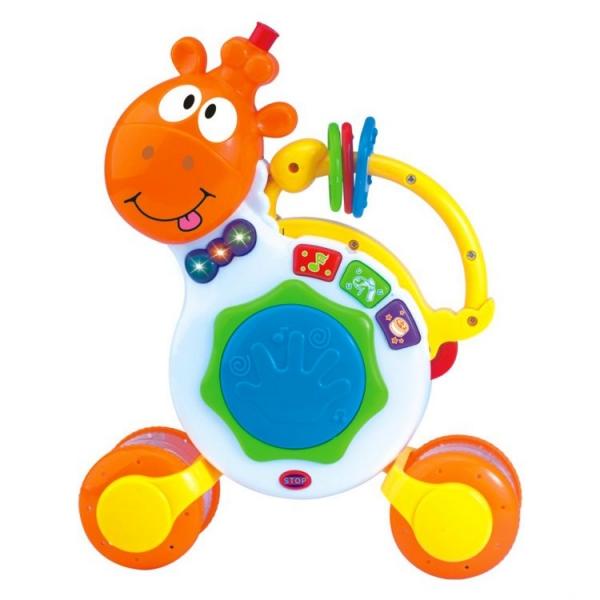 TOT KIDS - Interaktivní hračka s melodii Hrající žirafka