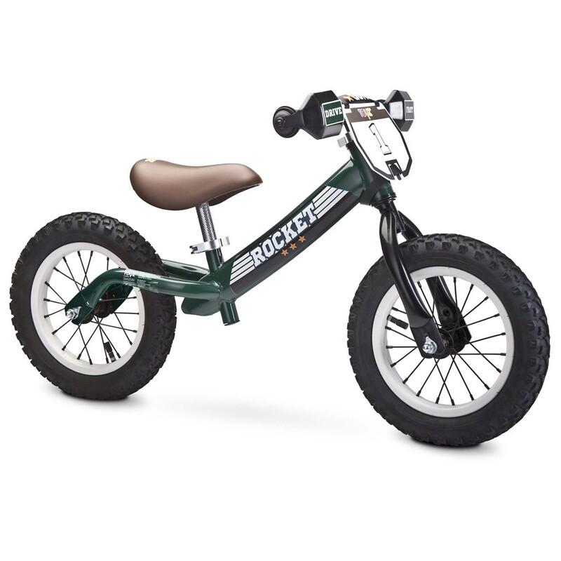 TOYZ - Dětské odrážedlo kolo Rocket green