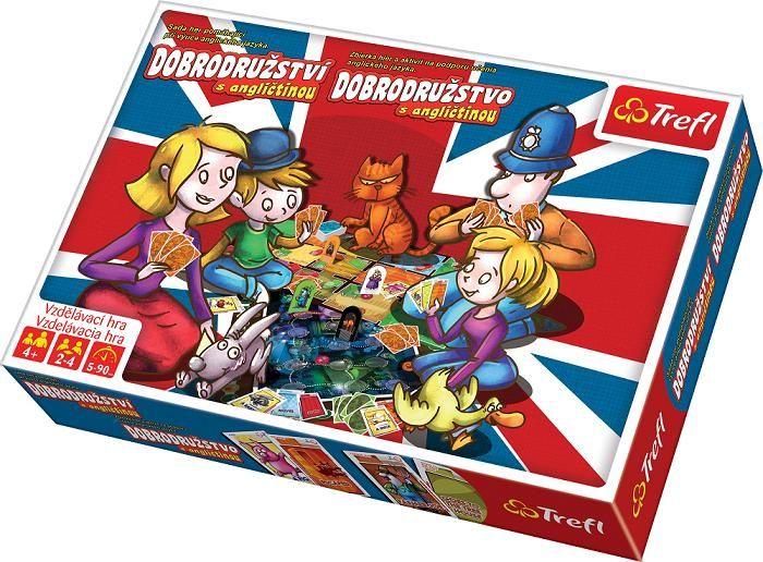TREFL - Dobrodružství s angličtinou Kolekce vzdělávacích her