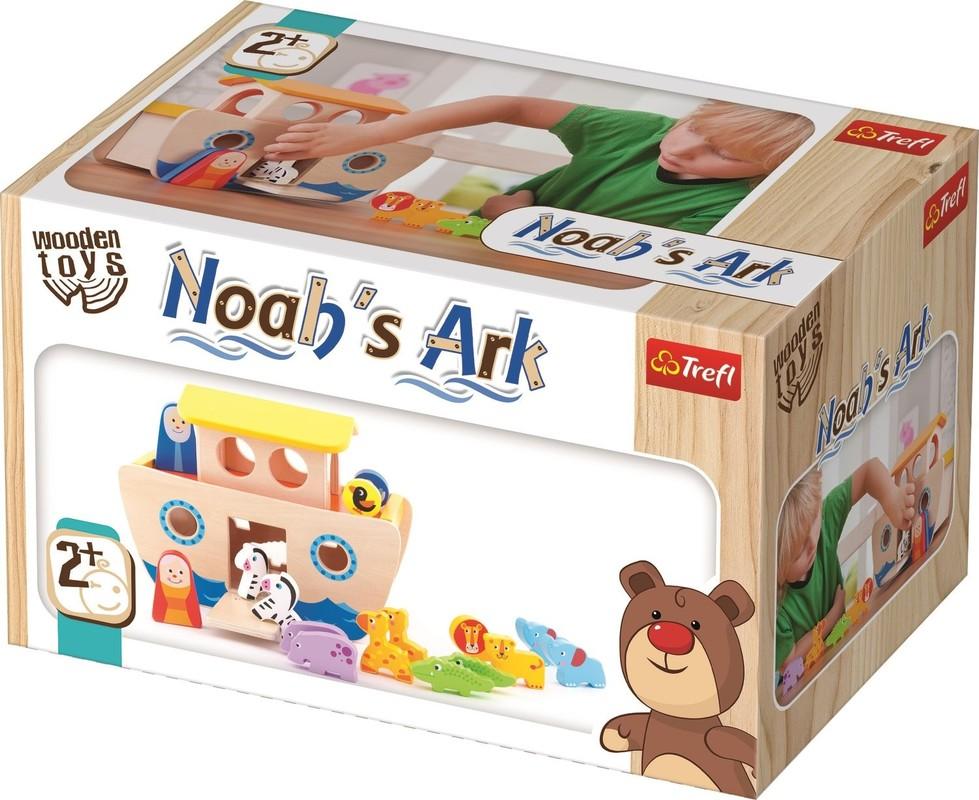TREFL - Dřevěná hračka Noemova archa Trefl
