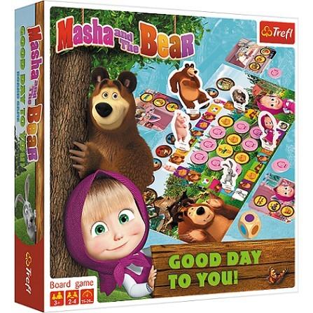 TREFL - hra Máša a medvěd