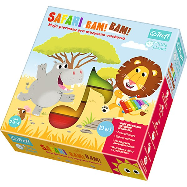 TREFL - Hra Safari Bim! Bam!