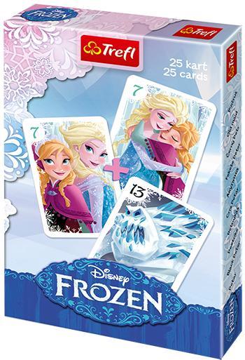 TREFL - Karty Černý Petr - Ledové Království