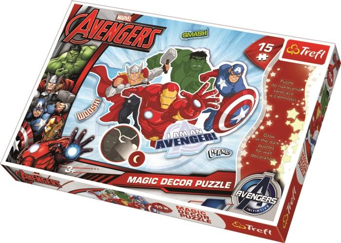 TREFL - Magic Decor Fosfor puzzle Avangers
