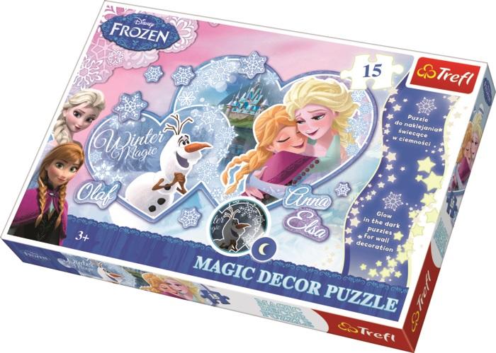 TREFL - Magic Decor Fosfor puzzle Frozen