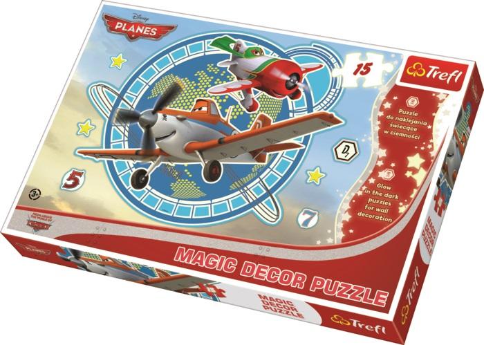 TREFL - Magic Decor Fosfor puzzle Planes