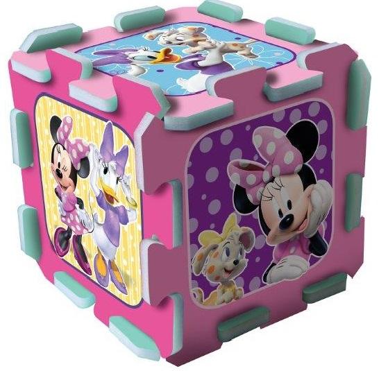 TREFL - Měkké pěnové puzzle Minnie 8ks