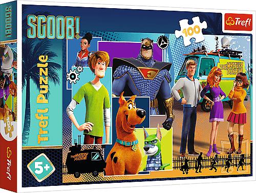 TREFL - Puzzle 100 Warner scoby Doo- Scooba Movie