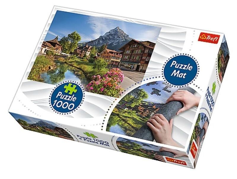 TREFL - Puzzle Alpy v létě 1000 dílků