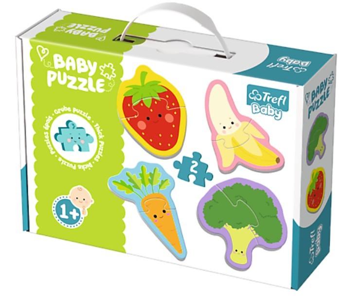 TREFL - puzzle Baby classic ovoce a zelenina 24