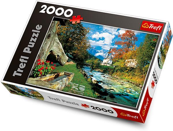 TREFL - Puzzle Bavorské Alpy - Německo.