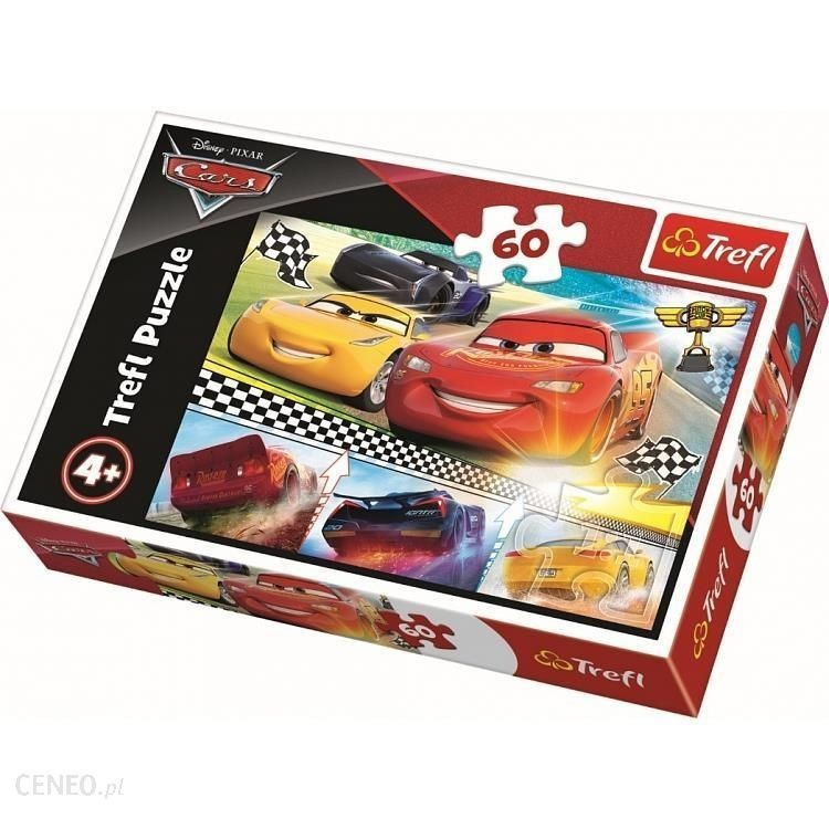 TREFL - puzzle Cars 3, 60