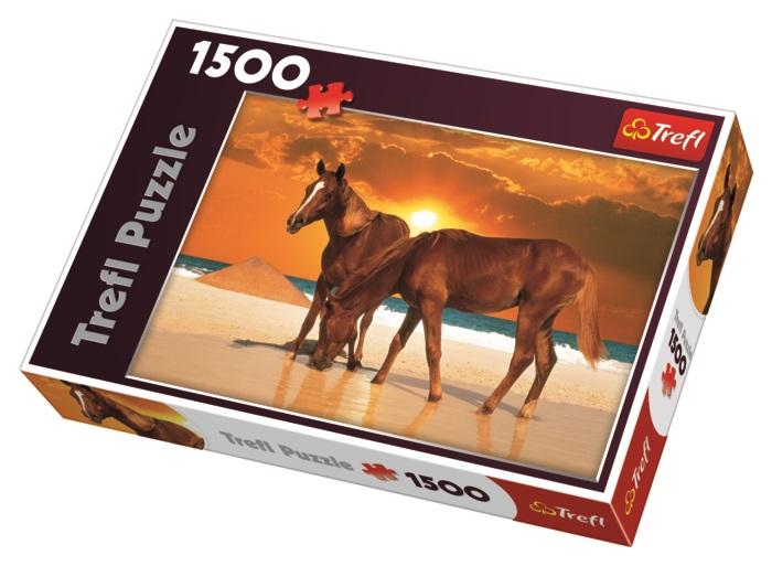 TREFL - Puzzle Koně na pláži.