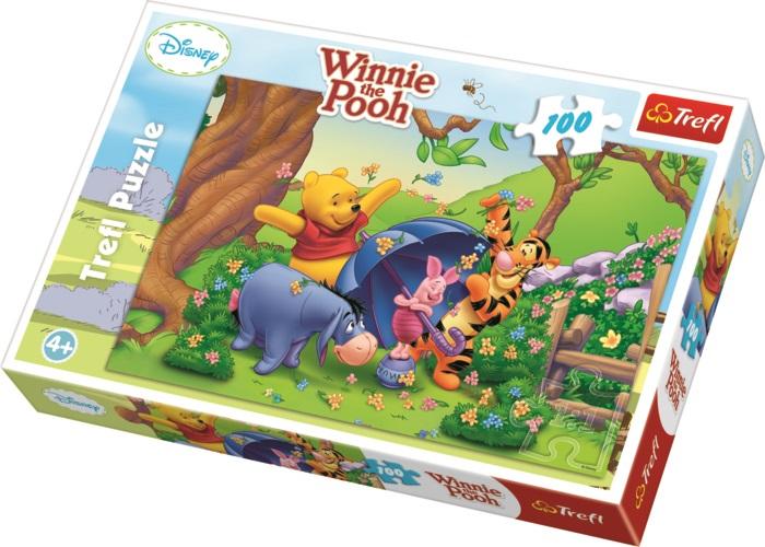 TREFL - Puzzle Medvídek Pů I 100 dílů