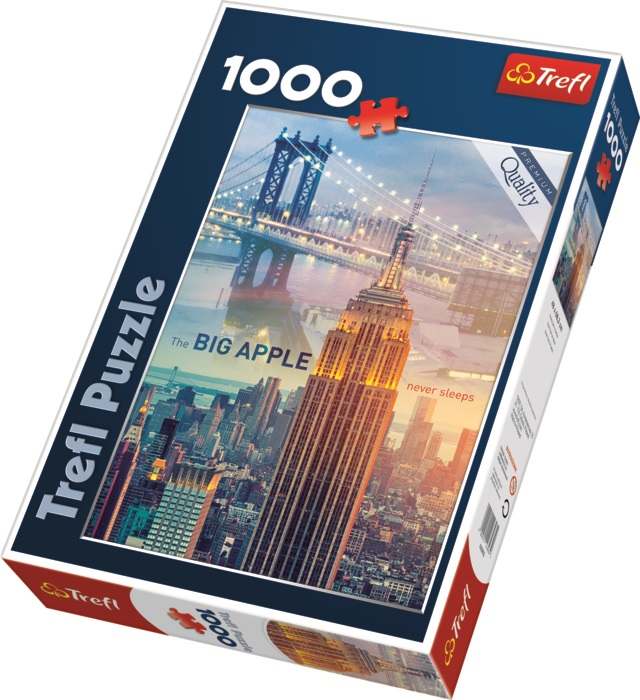 TREFL - Puzzle New York za svítání.
