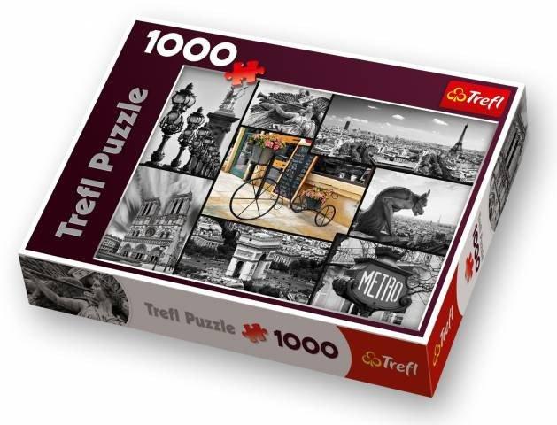 TREFL - Puzzle Paříž - Koláž.