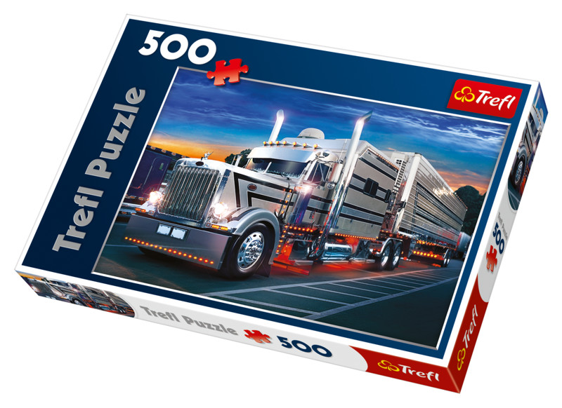 TREFL - Puzzle Stříbrný Kamion