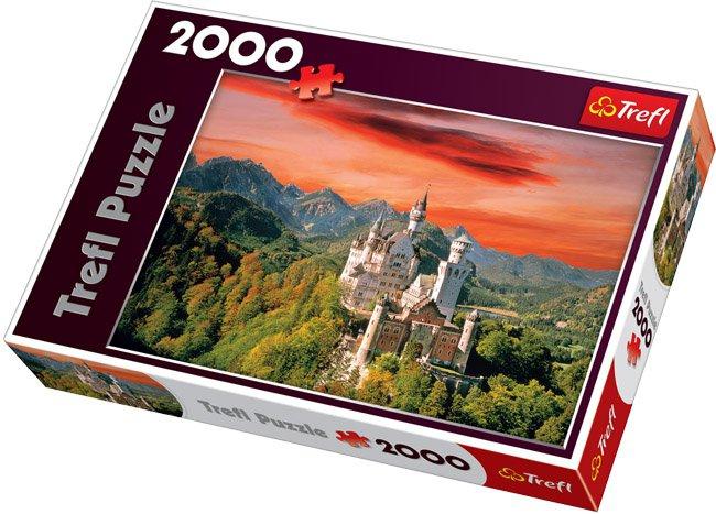TREFL - Puzzle Trefl Zámek Neuschwanstein - Bavorsko 2000