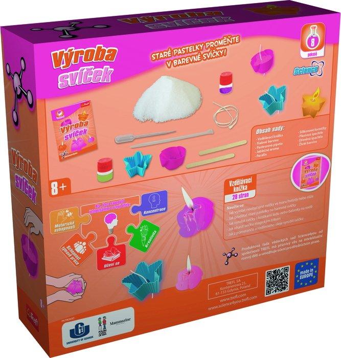 TREFL - Science 4 U - Výroba svíček