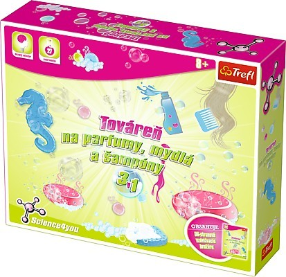 TREFL - Science 4 You - Továrna na parfémy, mýdla a šampony 3 v 1