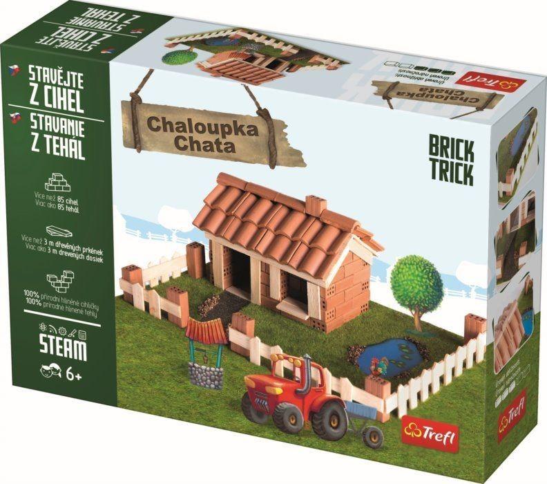 TREFL - Stavění z cihel - chata