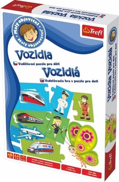 TREFL - TEFL hra Malý objevitel vozidel