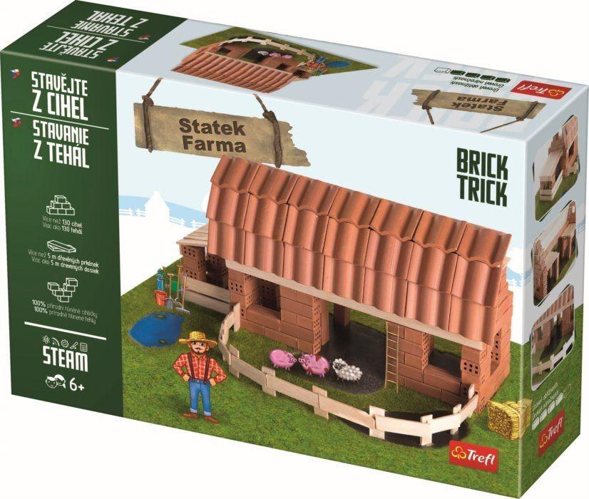 TREFL - Cihlová stavebnice Farma