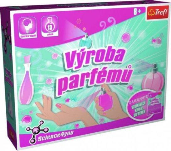 TREFL - Výroba parfémů vědecká hra 13 pokusů Science 4 you
