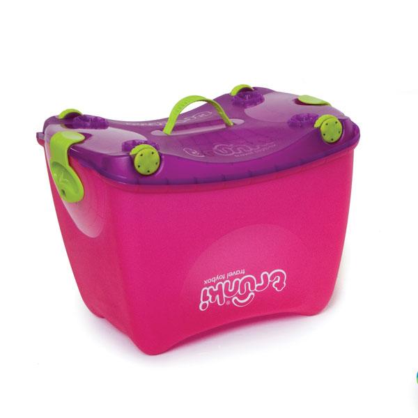 TRUNKI - Box na hračky - Růžový